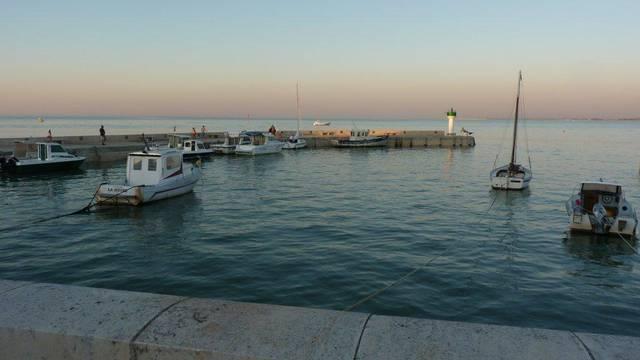 Port de Rivedoux, fin de journée