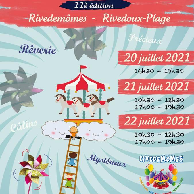 Festival de manèges insolites Rivedemômes.