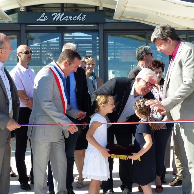 Inauguration du marché couvert